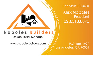 img - Contractor Business Cards