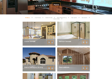 contractor mobile web design
