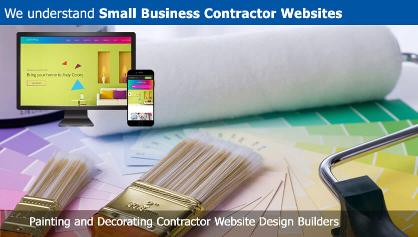 Painting and Decorating Contractor Website Design